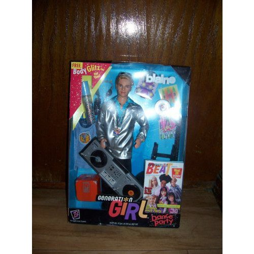 Blaine Doll Barbie バービー Generation Girl Dance Party 1999 人形 ドール