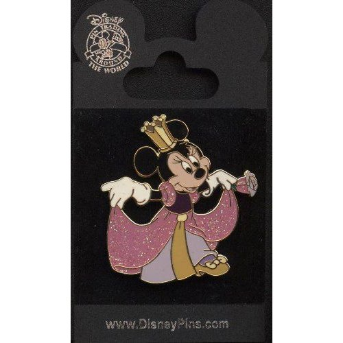 Disney ディズニー Pin - Princess Minnie Mouse - Sparkle - Glitter - Pin 44595 人形 ドール