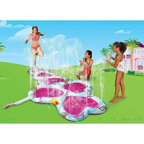 Barbie バービー Hopscotch Hearts Activity Sprinkler 人形 ドール