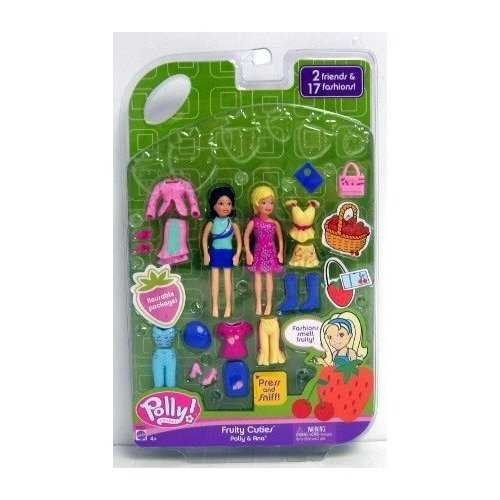 Fruity Cuties Polly and Crissy Polly Pocket Play Set 人形 ドール