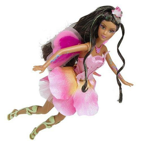 Barbie バービー Fairytopia Elina Doll - Ethnic 人形 ドール