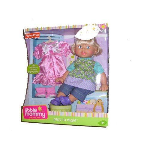 Fisher Price フィッシャープライス Little Mommy Play To Night Doll 人形 ドール