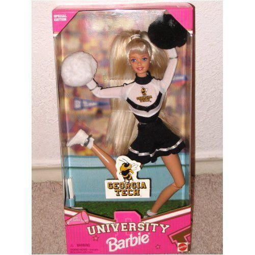 Georgia Tech University Cheerleader Barbie バービー 人形 ドール