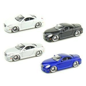 Lexus SC430 1/24 Set of 4