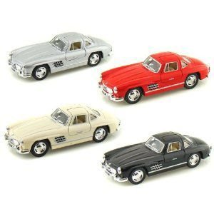 Set of 4 - 1954 Mercedes- Benz 300 SL Coupe 1/36