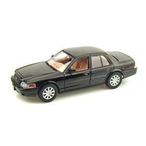 2007 Ford Crown Victoria 1/24 黒