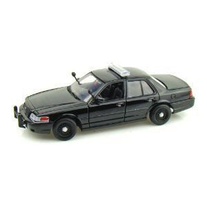 2007 Ford Crown Victoria Police 1/24 黒