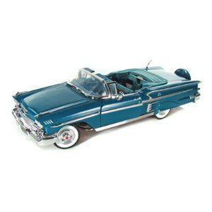1958 Chevy Impala Convertible 1/18 緑