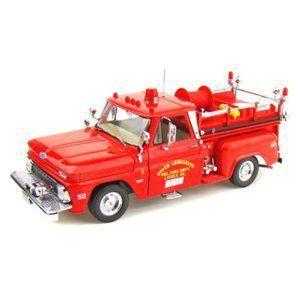 1965 Chevy C-20 Fire Truck 1/18