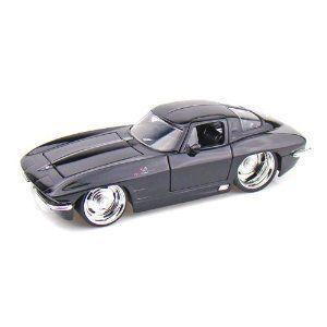 1963 Chevy Corvette Sting Ray Split Window 1/24 黒