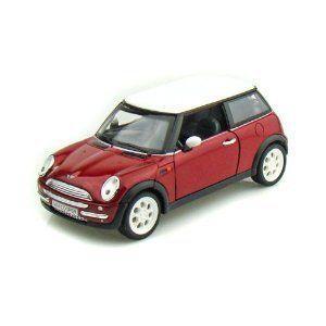 2001 Mini Cooper 1/24 - Candy 赤