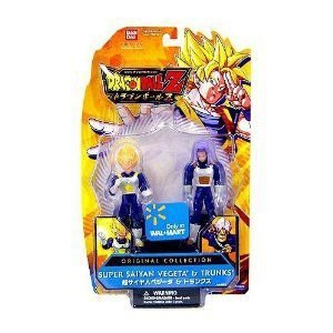 Dragonball Z Bandai Original Collection 4.5 Inch PVC Figure 2-Pack SS Vegeta and Trunks