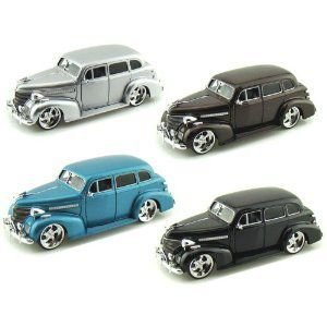 1939 Chevy Master Deluxe 1/24 Set of 4