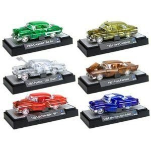 M2 Clearly Auto-Thentics Set of 6 Vehicles 1/64 Set of 6 A Asst.