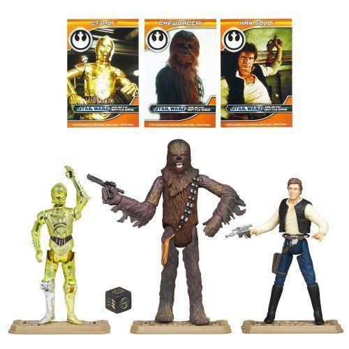 Star Wars スターウォーズ Battle Packs Rebel Heroes Pack
