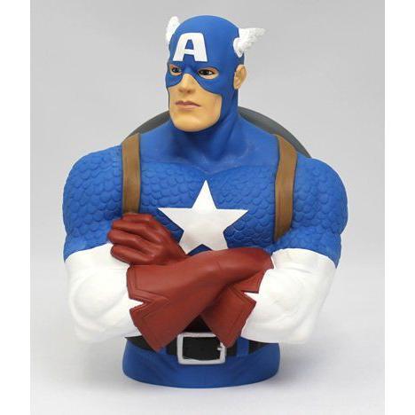 MARVEL(マーベル)CAPTAIN AMERICA(キャプテン アメリカ)BUST BANK(貯金箱)