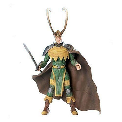 Marvel マーブル Legends Onslaught Series 13 Action Figure Long Horn Loki フィギュア ダイキャスト