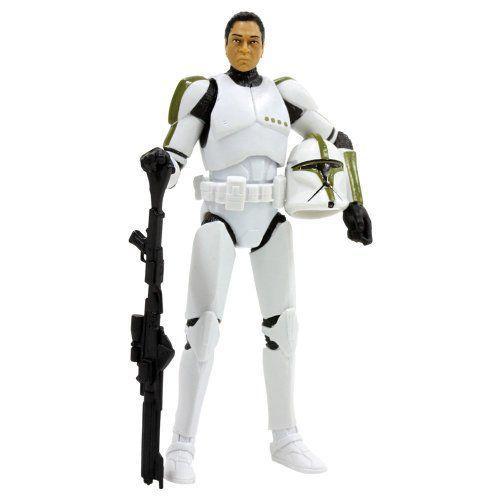Hasbro ハスブロ 3.75 inches Star Wars スターウォーズ 黒 #02 Clone Trooper Sargent フィギュア 人