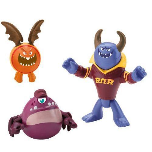 Imaginext Disney ディズニー Pixar ピクサー Monsters University Johnny, Chet & Omar フィギュア ダイ