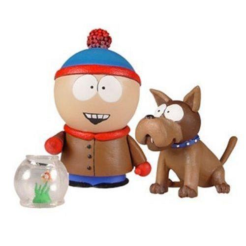 Mezco Toyz South Park Series 2 Action Figure Stan with Saprky フィギュア ダイキャスト 人形