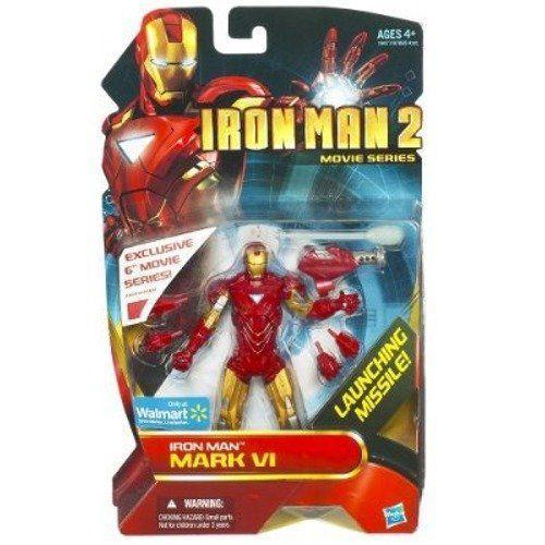 Iron Man アイアンマン 2 Movie Series 6 Inch Exclusive Action Figure Iron Man アイアンマン Mark VI