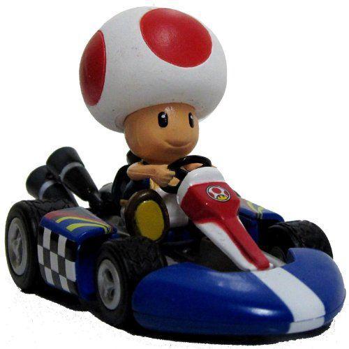 Nintendo Mario Kart Wii Pull-Back Car Version 2 Mini Figure - 3