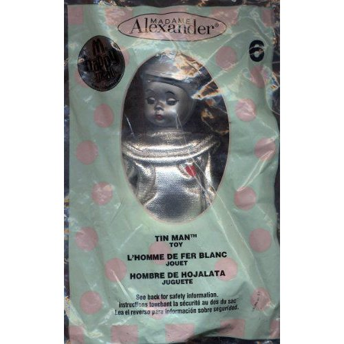 2007 TIN MAN #6 MADAME ALEXANDER MCDONALD'S HAPPY MEAL WIZARD OF OZ フィギュア ダイキャスト 人形