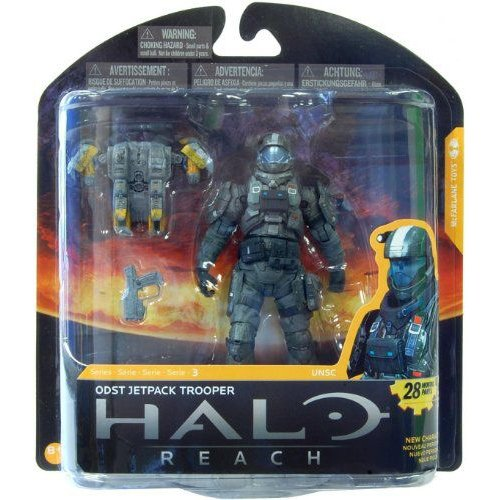 Halo Reach McFarlane マクファーレン Toys Series 3 Action Figure ODST Jetpack Trooper フィギュア ダ