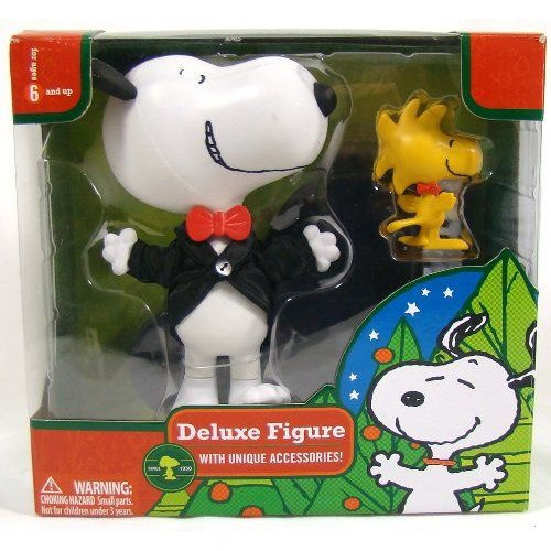 Snoopy and Woodstock Christmas Deluxe Action Figure フィギュア ダイキャスト 人形