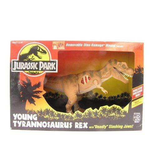 Jurassic Park ジュラシックパーク Young Tyrannosaurus Rex フィギュア ダイキャスト 人形
