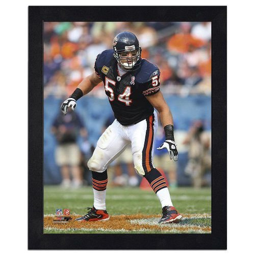 NFL Collection 11x14 Framed Photo - Brian Urlacher フィギュア ダイキャスト 人形