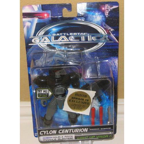 Battlestar Galactica Cylon Centurion - Stealth Cylon Hanger 18 Exclusive フィギュア ダイキャスト