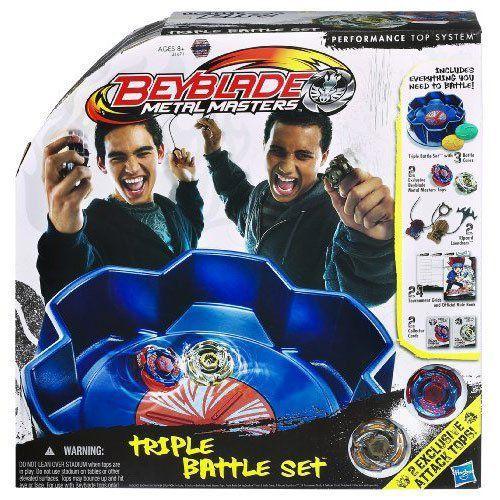 Beyblade ベイブレード Metal Masters Triple Battle Set フィギュア ダイキャスト 人形