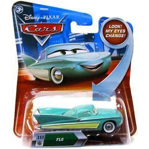 ディズニー / ピクサー CARS Movie 1:55 スケール Die Cast Car with Lenticular Eyes Series 2 Floミニ