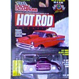 Hot Rod Magazine Drag Racing Series: Issue #94 '41 Willys Coupeミニカー モデルカー ダイキャスト