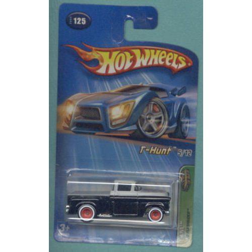Mattel マテル Hot Wheels ホットウィール 2005 Treasure Hunt 1:64 スケール 黒 1956 Flashsider 5/1