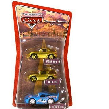 The World of Cars Race Officials Gift Packミニカー モデルカー ダイキャスト