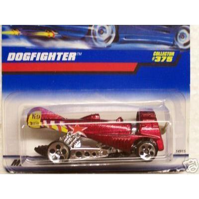 Mattel マテル Hot Wheels ホットウィール 1998 1:64 スケール Maroon Dogfighter Die Cast Car Collecto