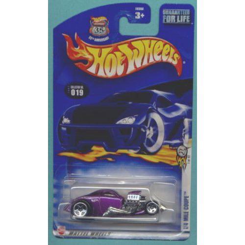 Mattel マテル Hot Wheels ホットウィール 2003 1:64 スケール 紫の 1/4 Mile Coupe Die Cast Car #019
