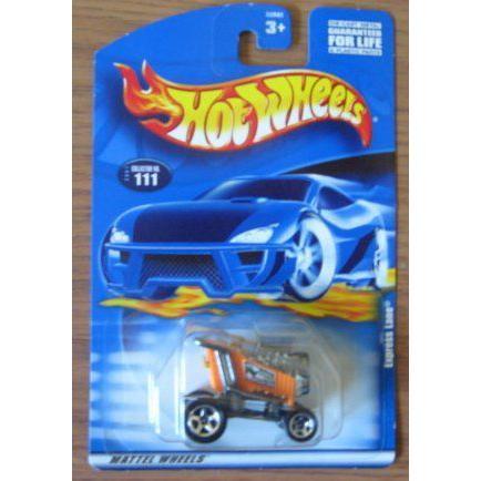 Hot Wheels ホットウィール 2001 Express Lane 111 MAINLINE オレンジ 1:64 スケールミニカー モデルカー