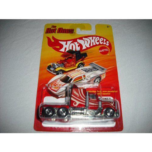 Hot Wheels ホットウィール 2012 The Hot Ones LONG GONE Semi Truck Diecast Vehicleミニカー モデルカ