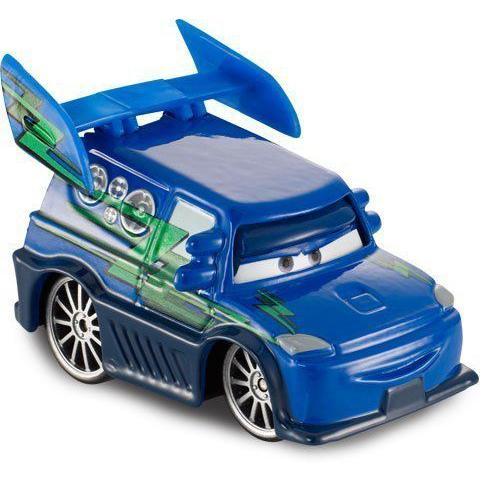 2013 ディズニー ピクサー Cars DJ With Flames,Tuners #3 of 10ミニカー モデルカー ダイキャスト