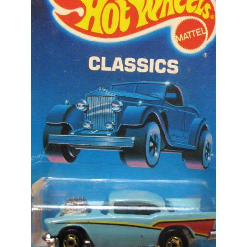 57 Chevy シボレー 1989 Hot Wheels ホットウィール Classics Turqurquoise, Without '57 Chevy' on Side
