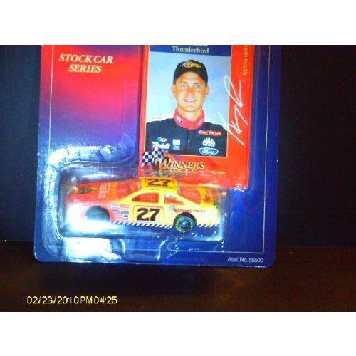 Stock Car Series #27 Kenny Irwin 1998 Thunder Bold 1/64ミニカー モデルカー ダイキャスト