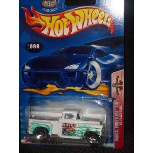 Radical Wrestlers Series #1 56 Flashsider #2003-90 Collectible Collector Car Mattel マテル Hot Whe