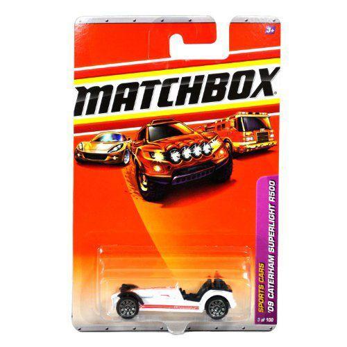 マッチボックス 2010 '09 Caterham Superlight R500 #3 白い Sports Carsミニカー モデルカー ダイキャ