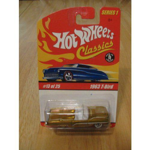 Hot Wheels ホットウィール Classics Series 1 - 1963 T-BIRD #13 of 25ミニカー モデルカー ダイキャス