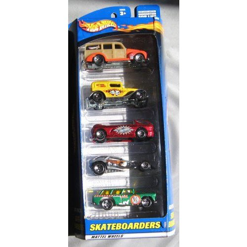 Hot Wheels ホットウィール Skateboarders Gift Pack Five 5ミニカー モデルカー ダイキャスト