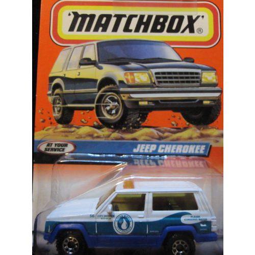 Jeep Cherokee マッチボックス At Your Service Series #97ミニカー モデルカー ダイキャスト