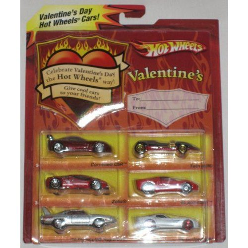 Hot Wheels ホットウィール 2008 Valentine 6 Car Gift Pack 1:64 スケール Collectible Die Cast Carsミ